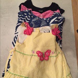 GAP Dresses - BUNDLE! Girls 5T/6T Clothing- Sparkles! ✨🎀💘